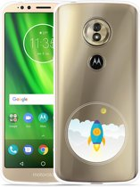 Moto G6 Play hoesje To the Moon