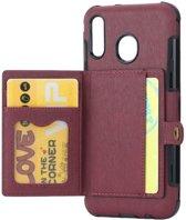 Teleplus Samsung Galaxy A20 Case Bodro Wallet hoesje