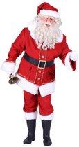 Kerstman katoen fluweel Natal (mt XL)