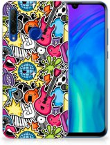 Honor 20 Lite Silicone Back Cover Punk Rock