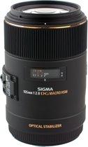 Sigma 105mm F2.8 EX DG OS HSM - Macrolens geschikt voor Canon EF