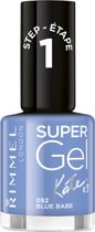 Rimmel London SuperGel by Kate Gel Nagellak - 052 Blue Babe