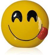 """Emoji - Emoticon - Smiley - spaarpot """"Savouring Delicious Food"""""""