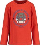 Blue Seven Jongens T-shirt - rood - Maat 104