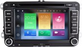 Android 9 navigatie vw golf polo passat caddy dvd carkit usb dab+ 64gb
