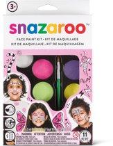 Snazaroo Schmink set meisjes in zachte kleuren