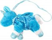 Toi-toys Handtas Unicorn Pluche 2 Liter Blauw