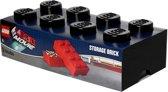 Lego Opbergbox - Brick 8 - Movie - Zwart