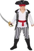 Skelet boekanier kostuum voor jongens - Verkleedkleding