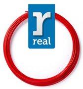 10m High-quality PETG 3D-pen Filament van Real Filament kleur rood