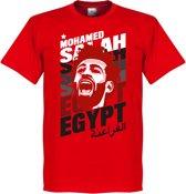 Salah Egypte Portrait T-Shirt - XS