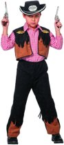 Carnavalskleding Cowboy outfit jongen Maat 116