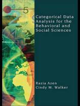 Categorical Data Analysis for the Behavioral and Social Sciences