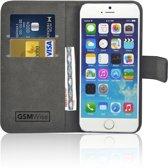 GSMWise� � PU lederen Portemonnee hoesje voor de Apple iPhone 6/6S Wallet Case - Telefoonhoesje - Bescherm Hoes - Book Style - Book Cases - klap Flip Cover - Smartphone hoesje � kleur zwart
