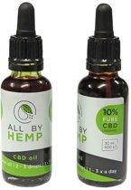 All by Hemp 10% CBD olie (30ml)