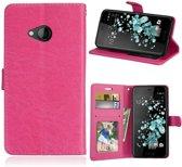 HTC U Play - Portemonnee hoesje - roze