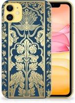 iPhone 11 TPU Case Golden Flowers