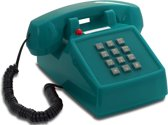 OPIS Push-Me-Fon RETRO TELEFOON / VINTAGE TELEFOONS Turquois - licht blauw