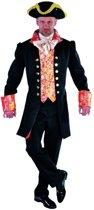 Middeleeuwen & Renaissance Kostuum | Markies Marcel Du Soleil Mantel En Vest | XL | Carnaval kostuum | Verkleedkleding