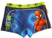 Spiderman homecoming zwembroek maat 7-8/128 blauw/groen