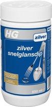 HG Snelglansdip Zilver - 650 ml