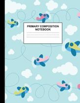 Primary Composition Notebook: Handwriting Practice Book for Kids Grades K-2 - Beautiful Preschool, Kinder, 1st and 2nd Grade Writing Journal School