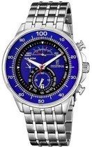 Festina Timeless Chronograph horloge F6830/3 - Staal