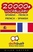 20000+ Spanish - French French - Spanish Vocabulary