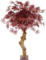 Acer kunstbonsai op stam 85 cm burgundy