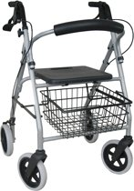Drive rollator Gigo Hard zitje - rugsteun - stokhouder - Gewicht 6,6 kg