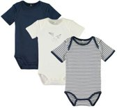 Name It Setje rompertjes 3 pack dress blues -  -  Maat  74