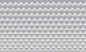 Fotobehang 3D, Design | Wit | 416x254