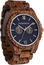 De officiële WoodWatch | Ocean Blue | Houten horloge heren