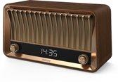 Philips VS700 - Radio en bluetooth speaker met DAB+ - Bruin/hout