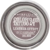 Maybelline Color Tattoo Leather 97 Vintage Plum oogschaduw Violet Shimmer