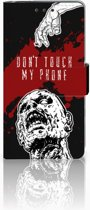 Sony Xperia X Bookcase Design Zombie Blood