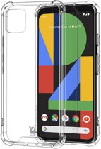 Google Pixel 4 Hoesje - Shockproof Case Transparant Cover - iCall