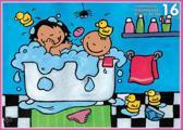 Noa In Bad - Legpuzzel - 16 Stukjes