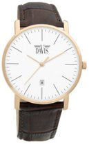 Davis 1992 Analoog Heren Quartz horloge