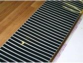 Laminaatverwarming, 75 x 650 cm, 100w/m2, 4.9m2, incl aansluitkabel 250cm kant en klaar