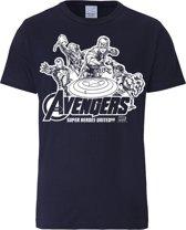 Logoshirt T-Shirt Avengers - Marvel