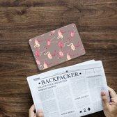 iPad Mini 4 Uniek Tablethoesje Flamingo