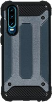 iMoshion Rugged Xtreme Backcover Huawei P30 hoesje - Donkerblauw