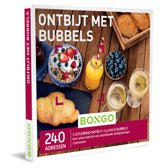 Bongo Bon België - Ontbijt met Bubbels Cadeaubon - Cadeaukaart cadeau voor man of vrouw | 240 adressen voor een heerlijk ontbijt