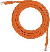 Sweex UTP Cable Cat5E Cross 3M netwerkkabel Oranje