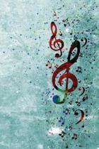 A Splash of Music Notebook