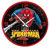Spiderman klok XL 32cm!
