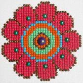Diamond Dotz ® painting Flower Power (10,2x10,2 cm) - Diamond Painting