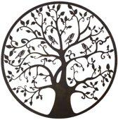 Levensboom - Metalen wanddecoratie