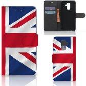 Bookstyle Case Samsung Galaxy A6 Plus 2018 Groot-Brittannië